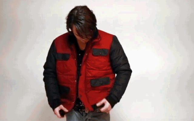 Vous pouvez maintenant acheter une veste auto-séchante pour accompagner vos baskets Power Lace