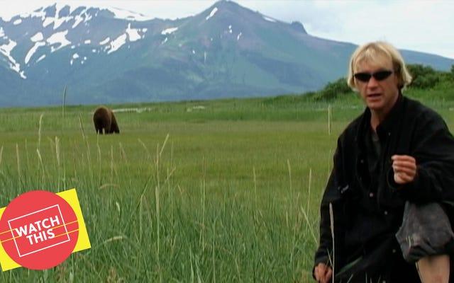 Grizzly Man di Werner Herzog è un docente della natura sulla stranezza degli umani