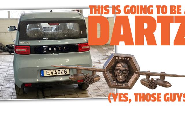 Nuestros amigos locos en DARTZ están realmente trabajando en un vehículo eléctrico asequible para la ciudad