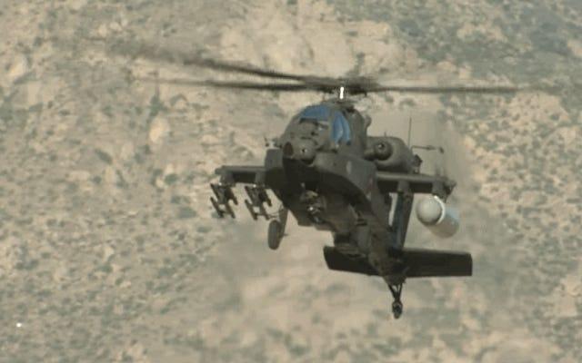米軍は、最初の攻撃ヘリコプターに搭載されたレーザー兵器のテストに成功しました