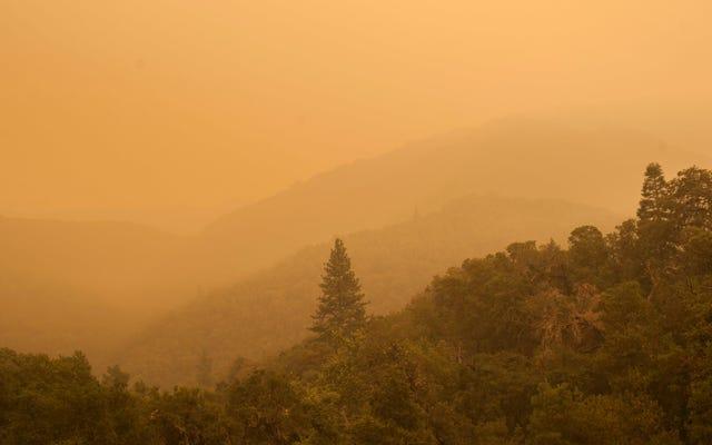 Un énorme incendie de forêt en Californie pourrait quadrupler de taille