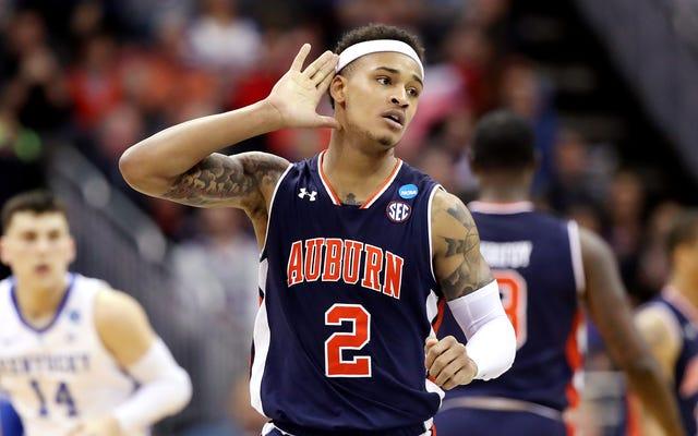 Auburn ha sfidato le probabilità e ha inviato il Kentucky alle loro tombe