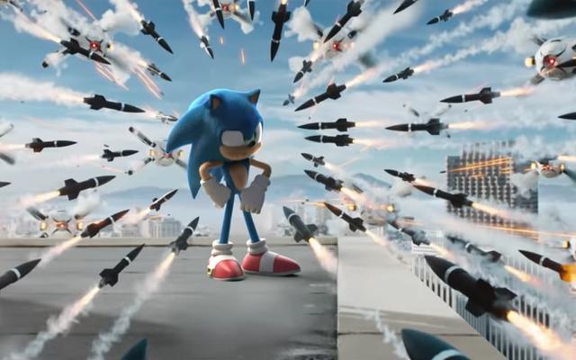 รถพ่วง Sonic ได้รับการปรับแต่งด้วยเม่นสีน้ำเงินที่รวดเร็วอย่างที่คุณรู้จักเขามาโดยตลอด