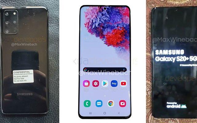 Big Leak daje nam jak najlepsze spojrzenie na Galaxy S20