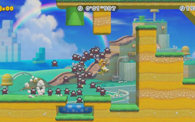 Le nouveau mode Speedrunning de Mario Maker 2 ressemble beaucoup à un hack populaire fait par les fans