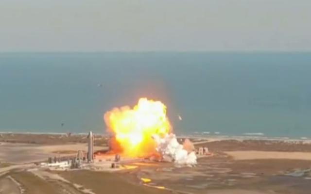 FAA nadzoruje dochodzenie w sprawie rozbitego prototypu statku kosmicznego SpaceX