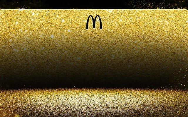McDonald's sẽ xổ số vàng để ăn miễn phí suốt đời giống như thẻ mà Bill Gates có