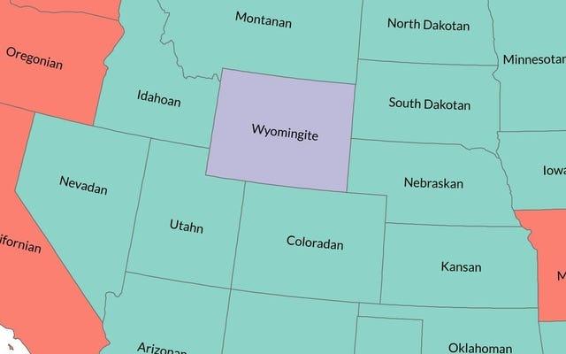 Comment appeler les gens de chaque État