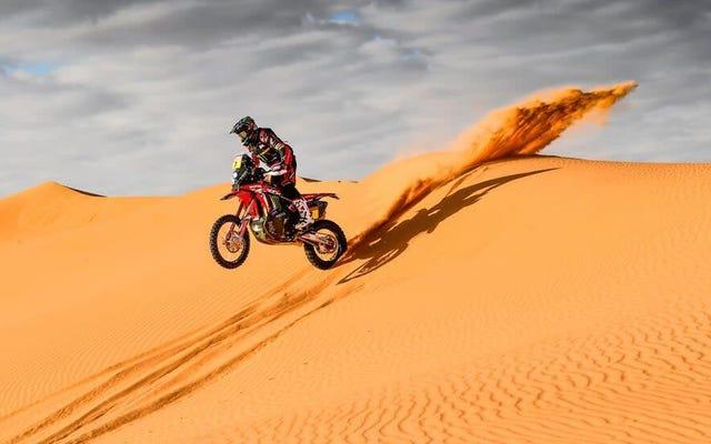 Honda est sur la bonne voie pour remporter le Dakar pour la première fois en 30 ans