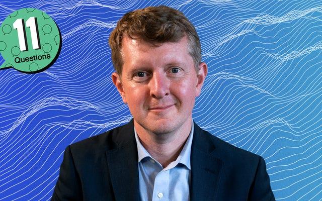 Jeopardy! 'S Ken Jennings ingin menjadi White Stripe ketiga