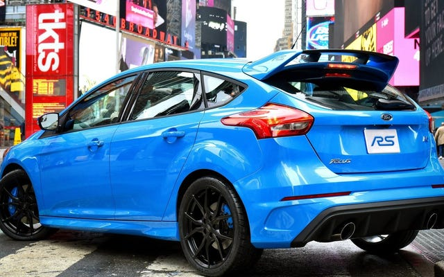 Puoi ottenere un ottimo affare su una Ford ST o RS proprio ora prima che se ne vadano