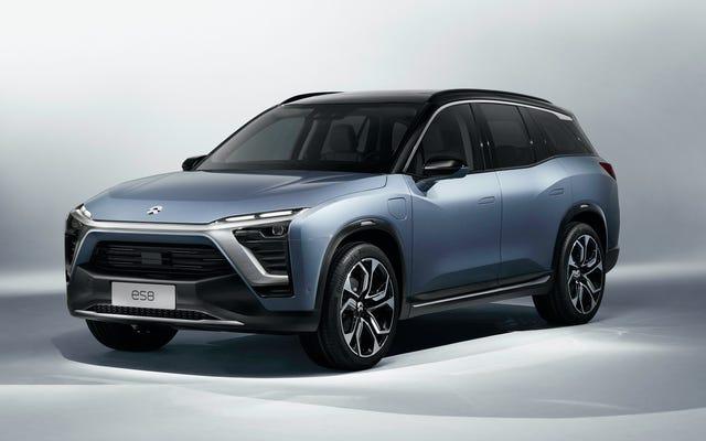 La startup eléctrica NIO quiere vender un SUV de tres filas en China el próximo año