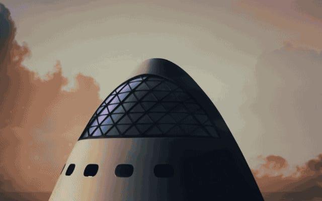 Questo è il piano di Elon Musk per colonizzare Marte: costruire il più grande razzo della storia