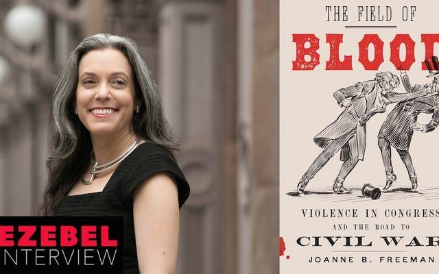 「規範は常に挑戦されている」:市民性と議会乱闘の歴史に関するジョアン・フリーマン