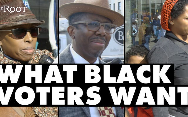 2018年中間選挙で黒人の有権者が望むもの