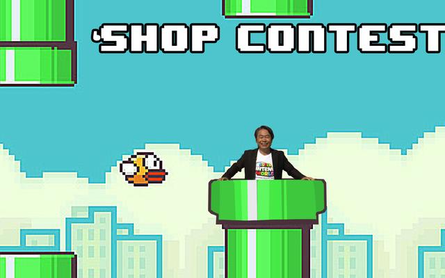 Mağaza Yarışması: Bir Pipodaki Miyamoto