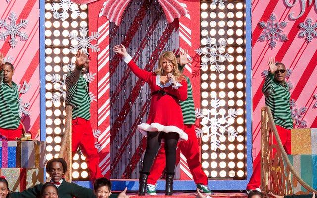 ไม่มีสุขสันต์วันคริสต์มาสอีกต่อไปมันคือ Mariah Careymas