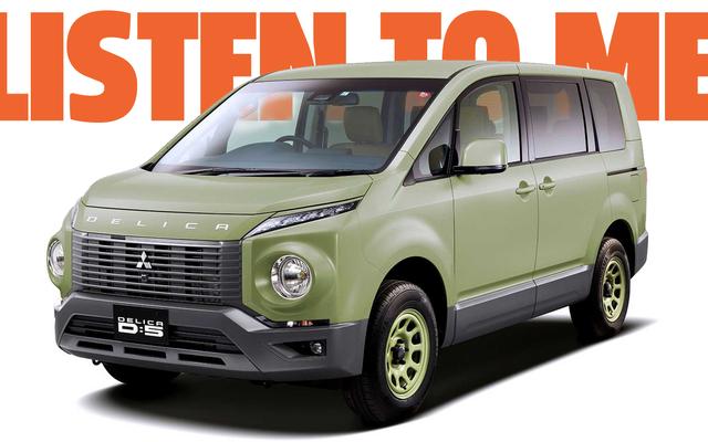 Mitsubishi peut résoudre ses problèmes en Amérique avec la Delica si elle ne faisait que pousser une paire