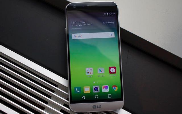 LG G5 jest jak całkowicie metalowy prototyp telefonu z przyszłości