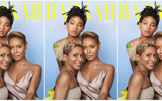 Wooowwwww ... Les Women of Red Table Talk sont sur la 1ère couverture numérique de Harper's Bazaar!