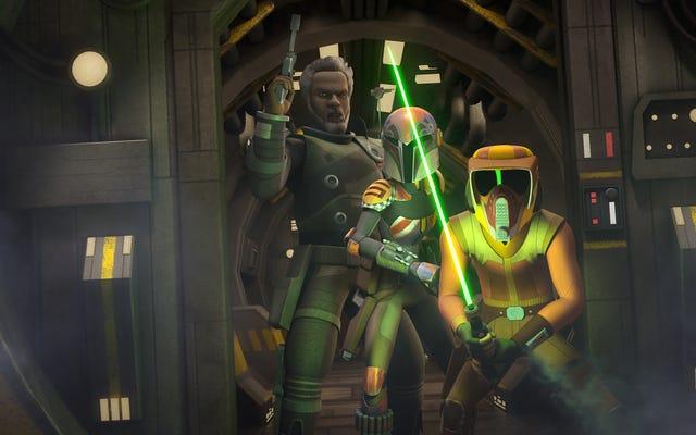 Discutir la complejidad de la guerra es más fácil para Star Wars Rebels que explorarla