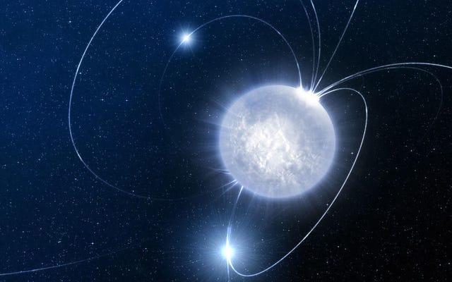 世界中の望遠鏡が私たち自身の銀河から来る不思議な電波バーストを拾う