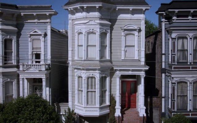 フルハウスの家は売りに出されており、ミルクマン、ペーパーボーイ、イブニングテレビはありません。