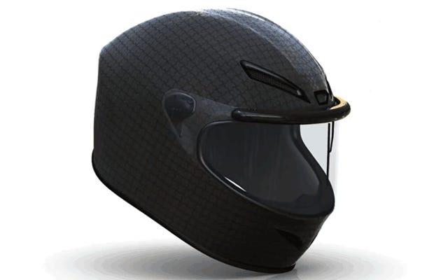 ある会社があなたのオートバイのヘルメットにワイパーを置きたいと思っています