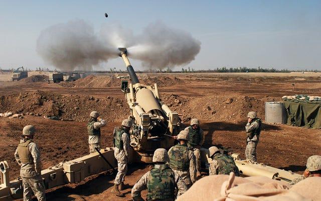 イラクでの海兵隊員の死により、以前はモスル近くの秘密の消防基地が明らかに