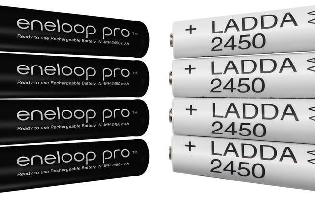 क्या आइकिया के $ 7 रिचार्जेबल बैटरियों वास्तव में मूल्य में Eneloop प्रो AAs हैं?