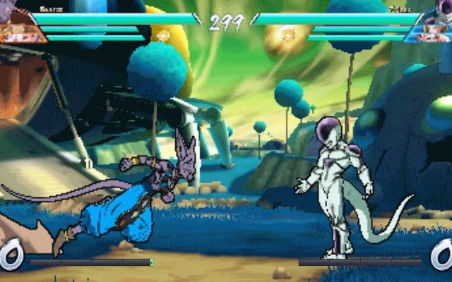 Dragon Ball FighterZ con le impostazioni più basse è come tornare indietro nel tempo