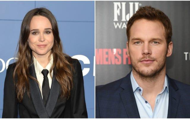 Ellen Page dénonce l'église «infâme anti-LGBTQ» de Chris Pratt