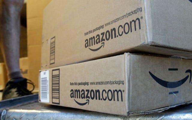 Amazon donne une carte-cadeau de 150 $ au couple qui a reçu 29 kilos de marijuana avec leur commande