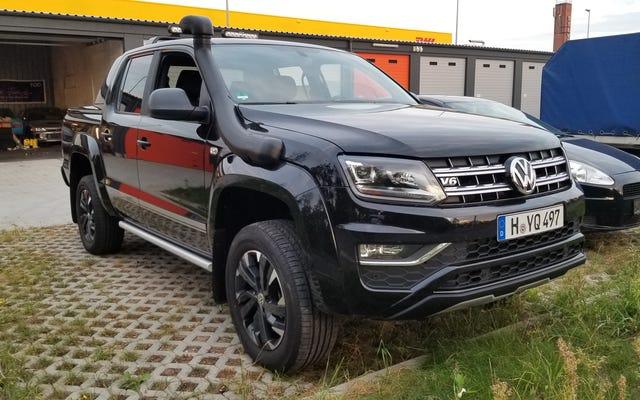 Que voulez-vous savoir sur le pick-up Volkswagen Amarok?