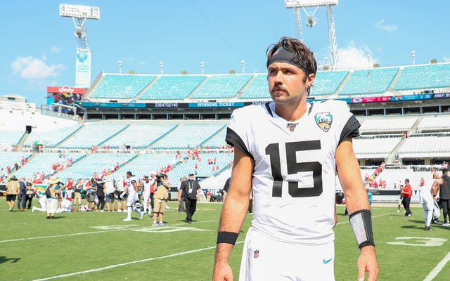 Just So You Up To Speed, This Is Gardner Minshew