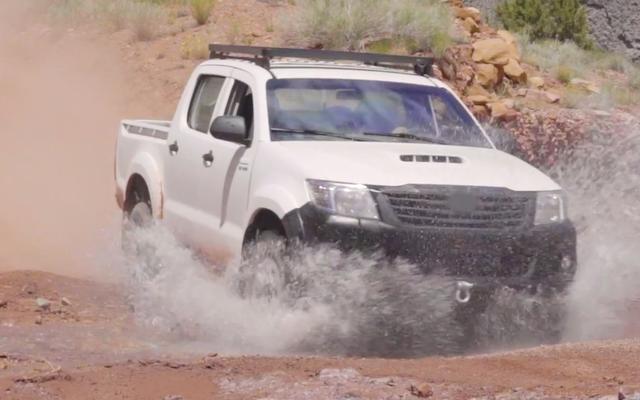 La camionnette de la prochaine guerre Toyota n'est pas du tout une Toyota