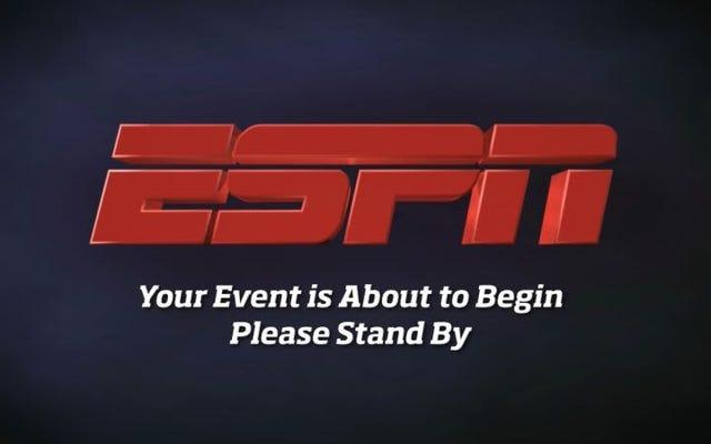 ESPN ne fait même plus semblant de se soucier des conflits d'intérêts