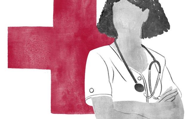 Enfermeras, que intentaron mantener la Tierra en su eje
