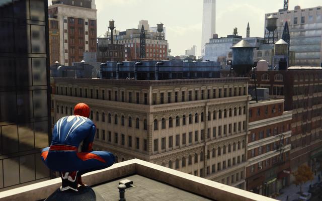 Insomnia Mengungkap Salah Satu Trik Kamera Yang Membuat Dunia Spider-Man Terasa Begitu Besar