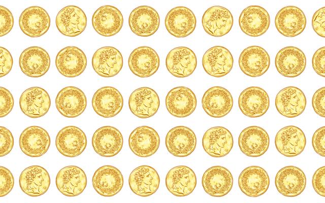 このパズルでは、コインの2つのグループを作成するだけです...目隠し