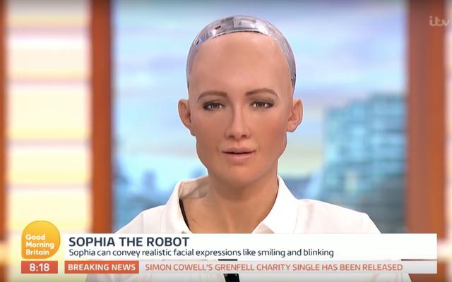 サウジアラビアはロボットを市民にしたばかり