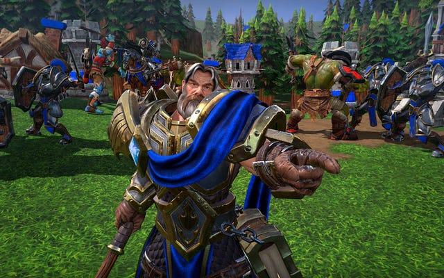 Blizzard posee tus juegos personalizados de Warcraft 3: Reforged
