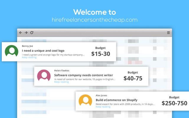 あなたがプロであるときに安いフリーランスサイトと競争する方法