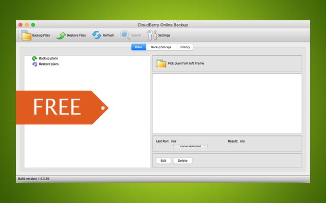 รับใบอนุญาตฟรีสำหรับ CloudBerry Backup Pro สำหรับ Mac หรือ Linux ปกติ $ 30