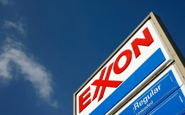 伝えられるところによると、エクソンとシェブロンは油で汚れたボルトロンになると考えられていた