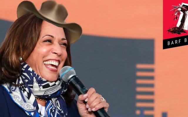 Biden Camp envoie Kamala Harris au lasso pour quelques votes au Texas, maintenant un État Swing?