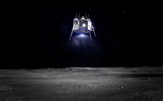 ジェフ・ベゾスが「月面での持続的な人間の存在」のために設計された月面着陸船を明らかにする