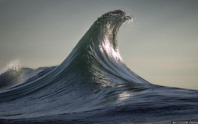 無限にループする波のこれらのGIFはあなたのボロボロの魂を落ち着かせます