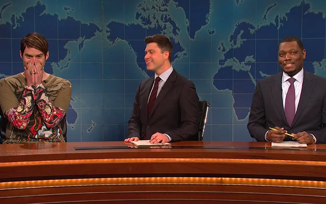 Bill Hader đưa Stefon trở lại Saturday Night Live, ngay cả khi không có chồng Seth Meyers