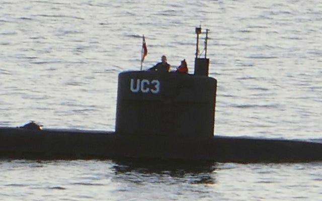 彼らはピーター・マドセンの潜水艦が沈んだ場所の近くで女性の切断された胴を見つけます